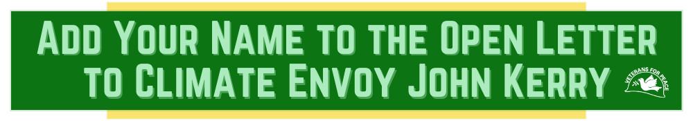 Add Your Name to the Open Letter to Climate Envoy John Kerry