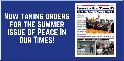 Peace In Our Times Summer Edition Now Available